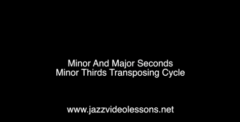 major minor seconds minor thirds cycle