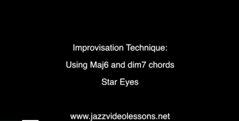 major6 dim7 star eyes